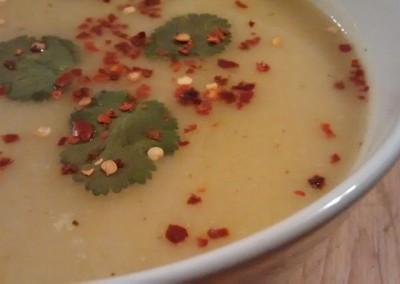 Fruchtige Pastinaken Suppe - mmmmmmh :)