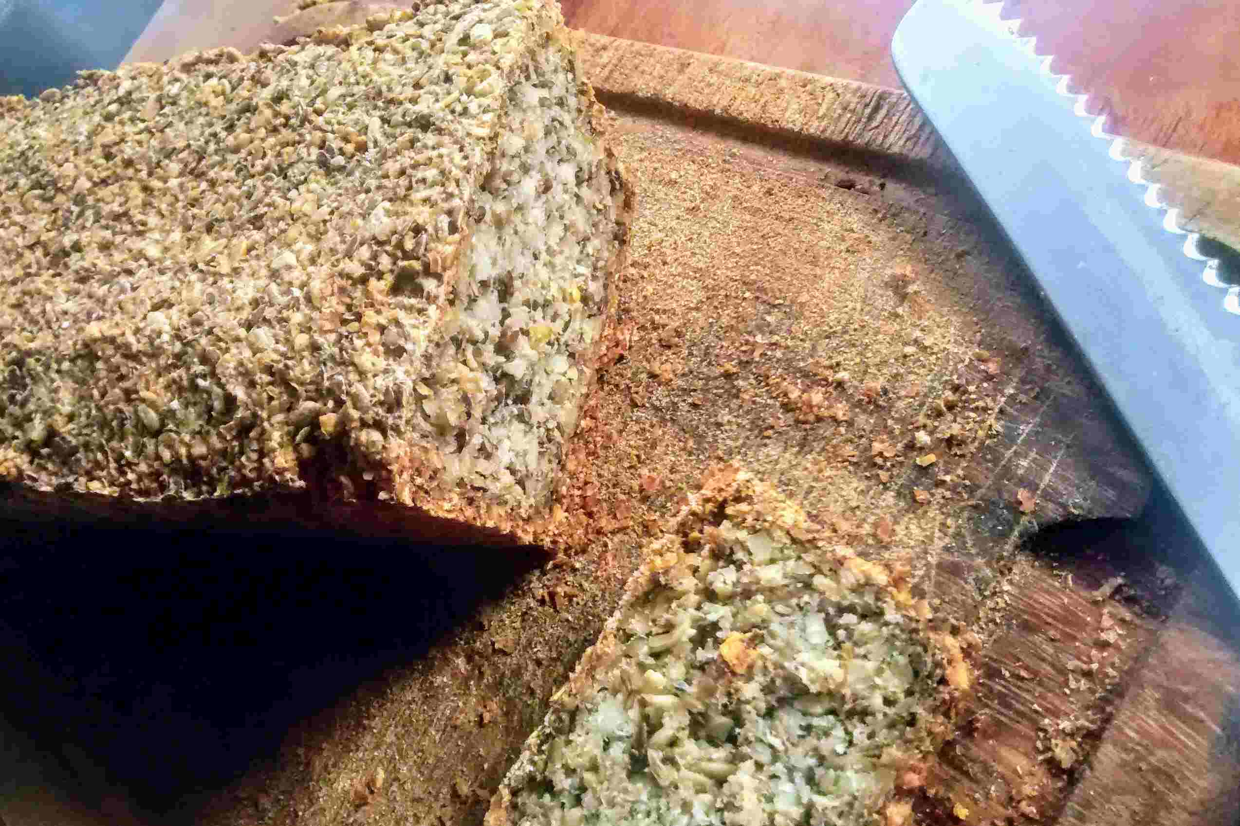 Flohsamenbrot – einfach legga und glutenfrei