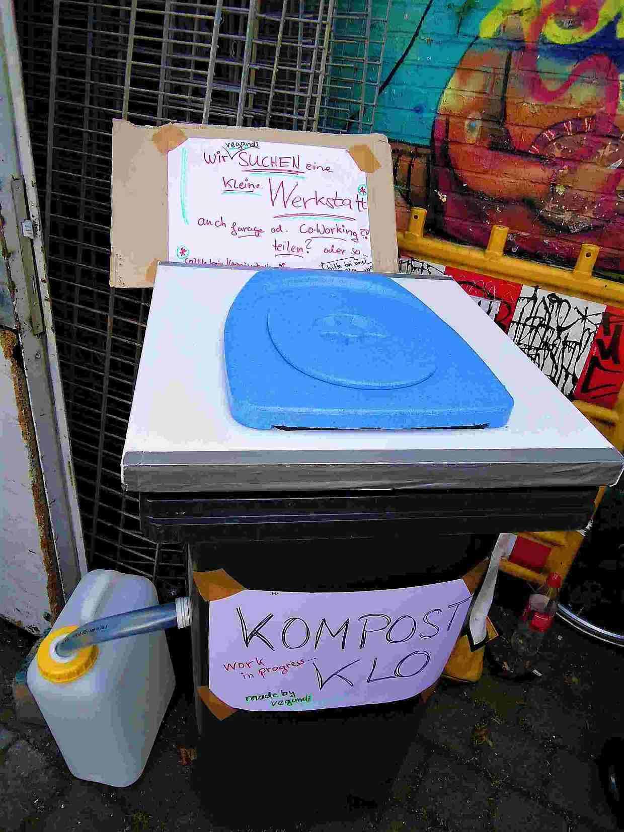 Kompost-Klo-Prototyp