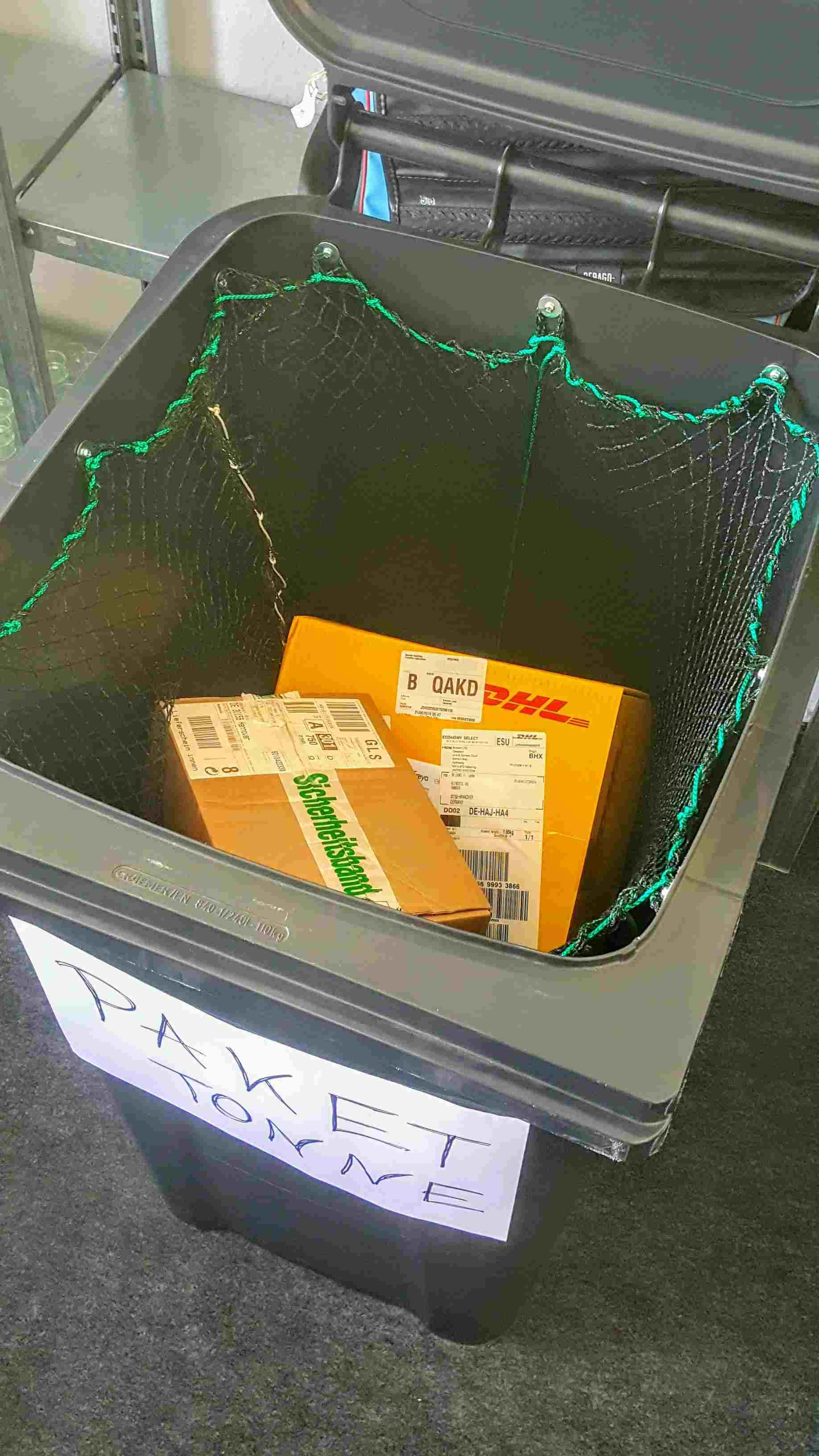 Paket-Tonne